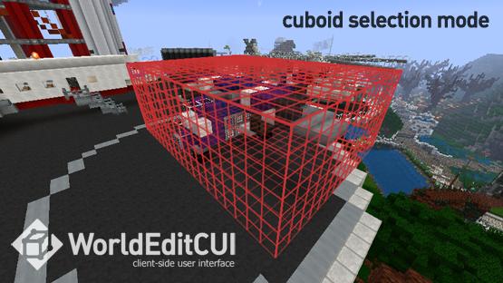 worldeditcui - mods for liteloader - lightweight mod loader for